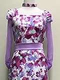 花柄ドレス 1605041