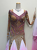 直線模様のドレス 152107186213