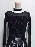 黒のシックなドレス 1705036