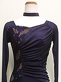 濃紺のドレス 1605127