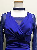 明るい紫のドレス 1605137