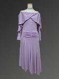 薄紫のパーティドレス