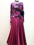 赤紫のドレス 150713
