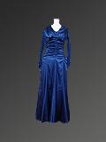 紺色のドレス