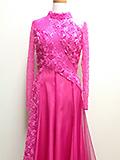 ピンクの薔薇ドレス1405059