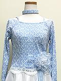 水色のパステルドレス 1705025