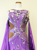 紫のドレス TDF1611-SM147040