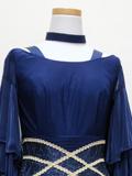 社交ダンスドレス:紺のドレス1609205