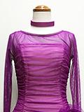 紫のドレス 1605035