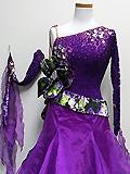 紫の石付きドレス 1A1602-WS0155